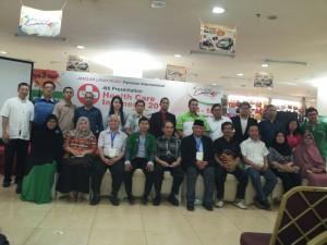 印尼保健2014國際活動成功舉後籌委合影