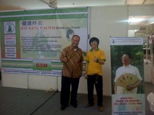 印尼學員說郭老師一直和她們在一起