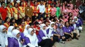 印尼學員踴躍參加東涌長者同樂日義務按摩活動