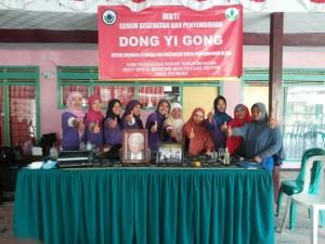 回郷發展的學員在2014.10.20.宣佈成立印尼智能保健學會